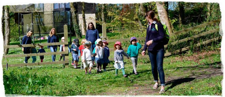Off on an adventure with Wren's Nursery Hooke Court